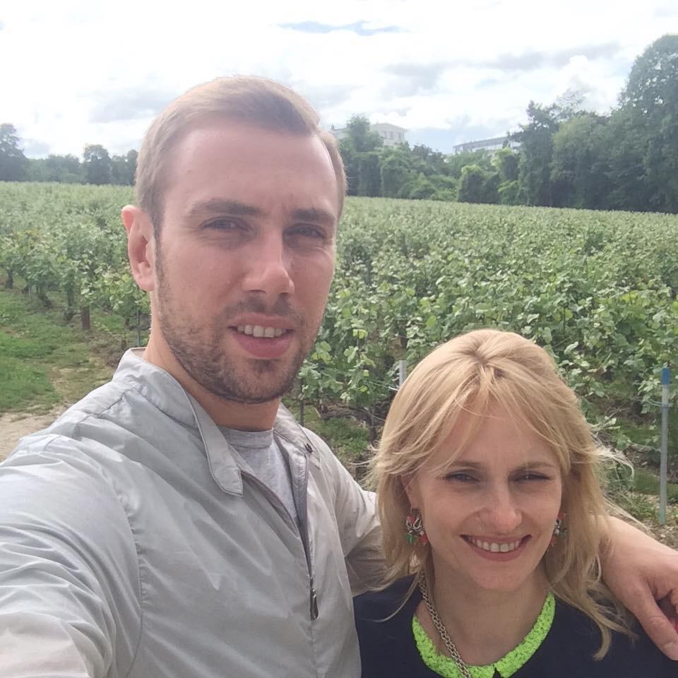 А.И. Коваленко с женой